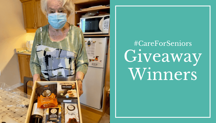 #CareForSeniors Giveaway | Resident Winners